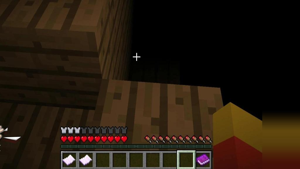 Minecraft我的世界[恐怖地图]自我无言进入了第二世界