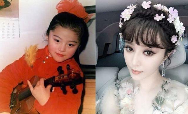 刘亦菲章子怡小时候就那么美, 周迅李小璐我傻傻分不清楚!