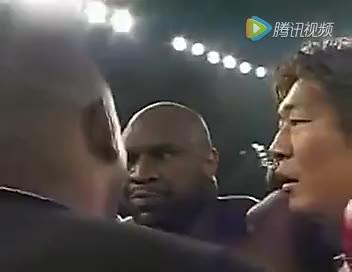 泰森遭遇挑衅! -- 巨无霸萨普挑战拳王泰森