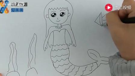 我要画简笔公主_简笔公主画_简笔公主画法_儿童简笔公主画_7262图片网图片
