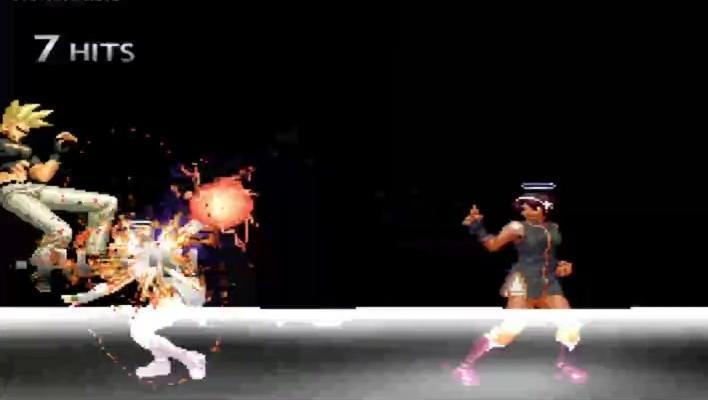 拳皇: 天使雅典娜VS二阶堂红丸 根本斗不过这个小丫头