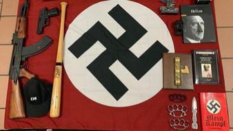 """搜出大量武器 意大利警方突袭""""新纳粹组织""""抓捕19人"""