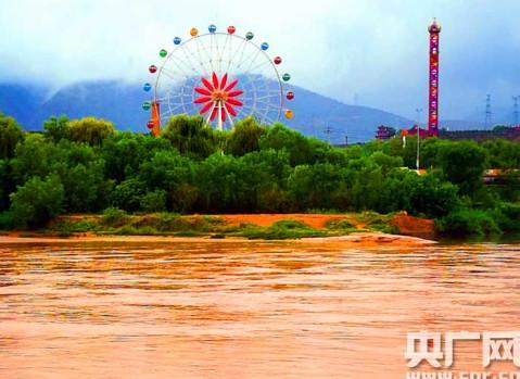 甘肃安宁热气球赛采风兰州著名风景区揽胜