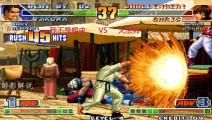 拳皇98c: 琢磨一套五十五连征服对手,这样打在游戏厅会不会挨揍