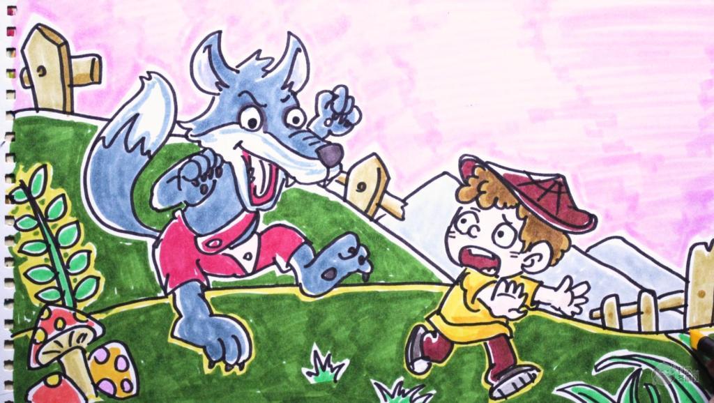 儿童大人简笔画教程 打开 儿童动画故事: 《狼来了》 打开 儿童故事