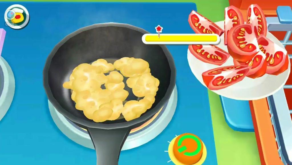 宝宝巴士: 奇妙美食餐厅,西红柿炒蛋和制作曲奇饼