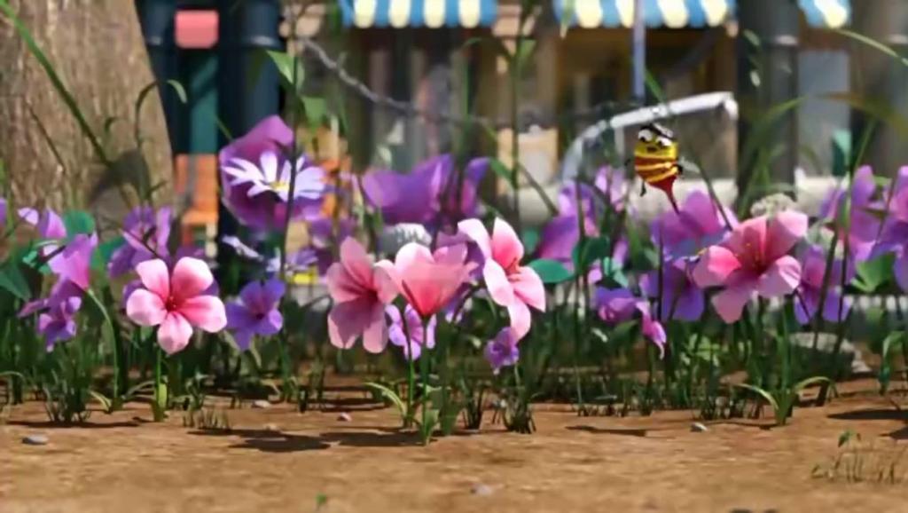 《爆笑虫子》虫子在抢蜂蜜之中学会了舞蹈~