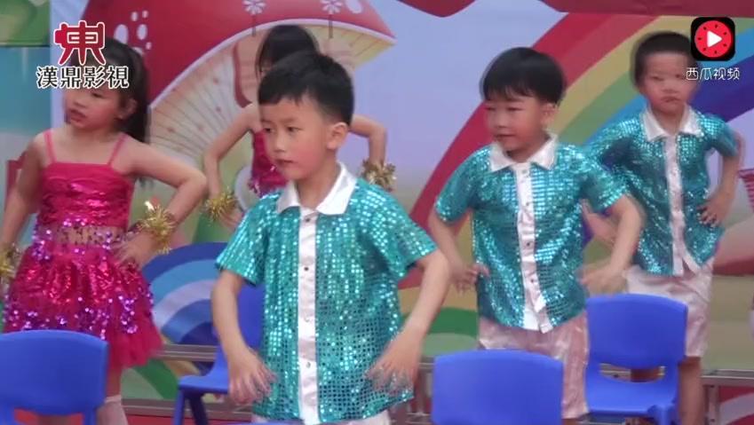 2015年最新 幼儿园大班六一舞蹈可爱颂