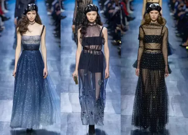 今夏仙气十足的纱裙才是主流, 因为显瘦