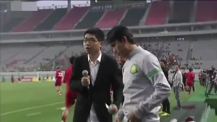 亚冠客场遭韩国人刁难,国安张晓彬一句霸气英文将其拨开