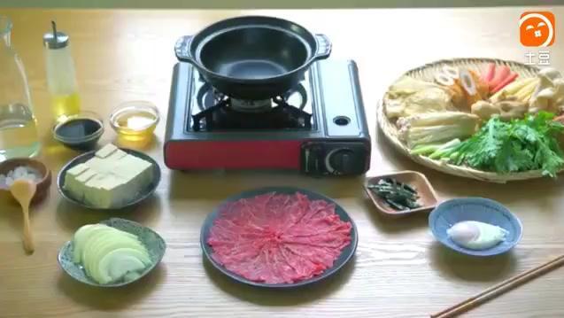这就是日本人最喜欢吃的寿喜烧火锅,你吃过吗?