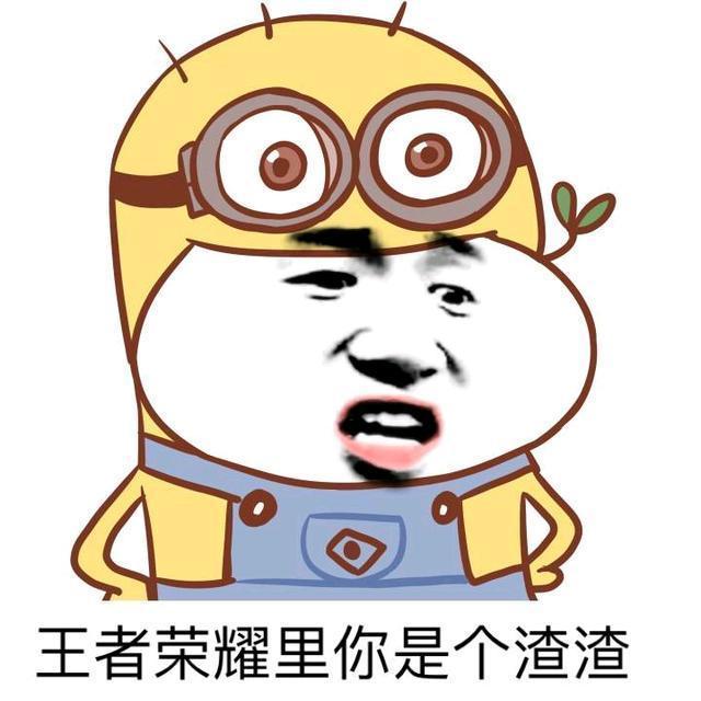 搞笑的王者农药表情包: 和我打王者荣耀你会不会很开心?图片