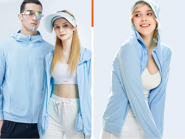 拥有这样一件时尚的防晒服, 潮流气质, 轻薄透气, 不怕晒
