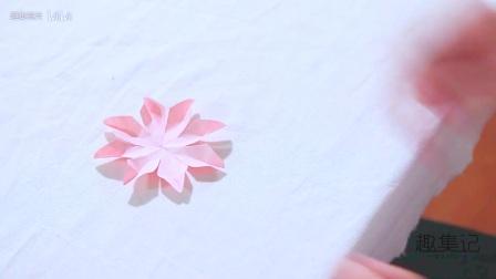 莲花宝叠法步骤图片