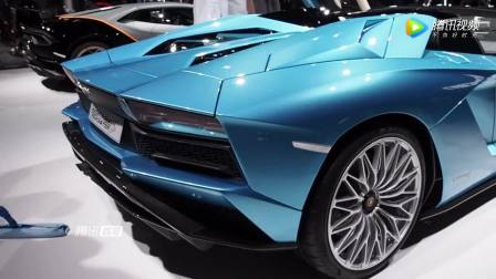 实拍全新一代 兰博基尼 埃文塔多 S Roadster 敞篷跑车