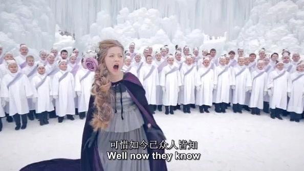 排名第一的11岁萝莉版神曲《Let It Go》开口跪