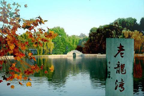 潍坊龙湾风景区图片