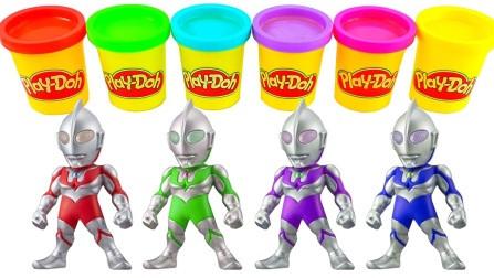 培乐多彩泥q版迪迦奥特曼 创意手工儿童玩具