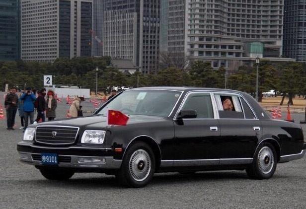 中国驻日大使馆用的不是红旗汽车?