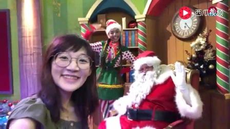 直击新加坡环球影城的圣诞村!