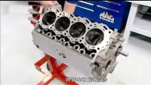 实拍赛车发动机的制造过程,老外造发动机就是牛逼!