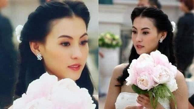 10年前的张柏芝有多美穿上婚纱浪漫 温暖 细腻, 太美了