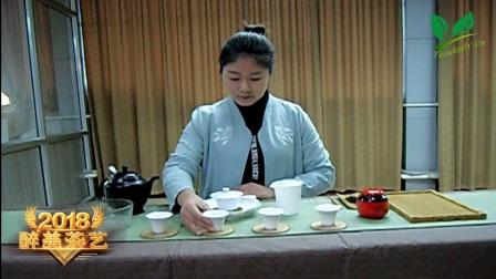 """【醉美茶艺】第一辑: 茶艺师吴学萍冲泡""""天禾红"""""""
