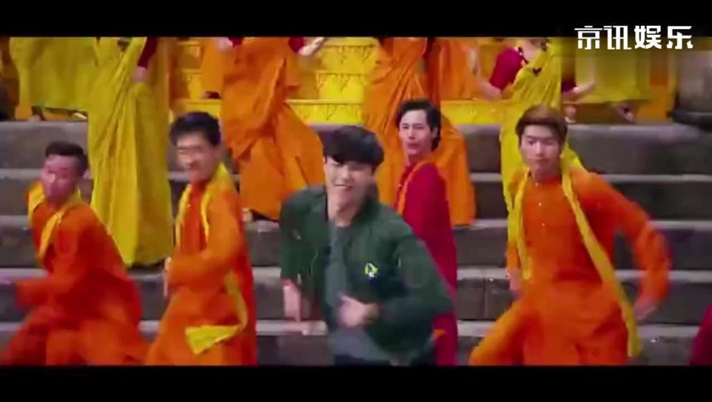 成龙、李治廷、张艺兴、母其弥雅携众人大条舞蹈《神话》,真神曲也,太欢快了!