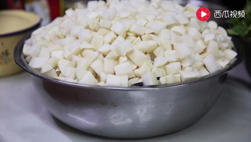 佛母寺素食: 香菇黄豆炖土豆萝卜