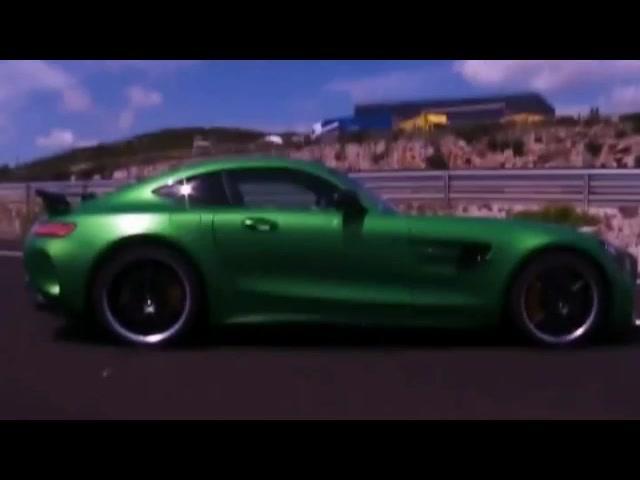 凶猛的怪兽 德国试驾奔驰AMG GT R