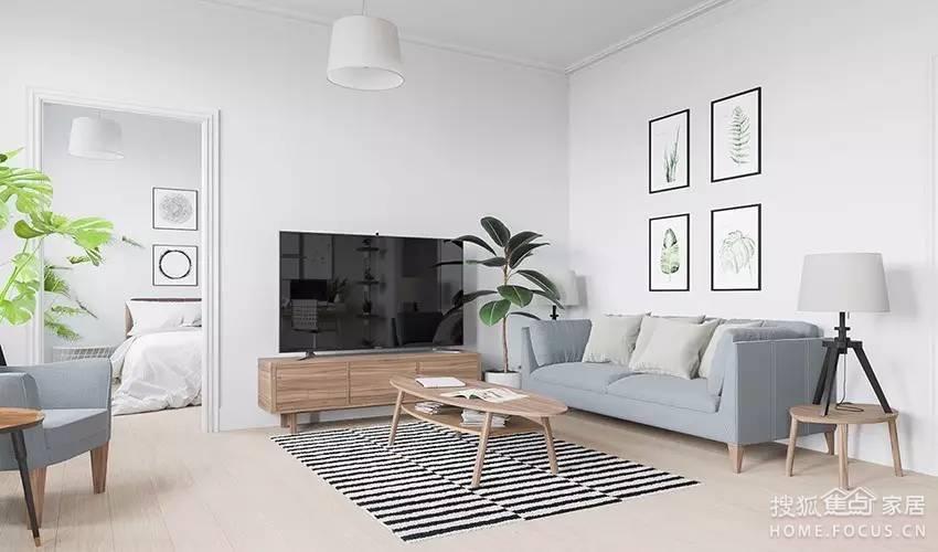 白墙和木地板似乎是无印的标配