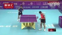 中国乒乓球巅峰之作,确定这是人类在打球吗?现场观众都跪了
