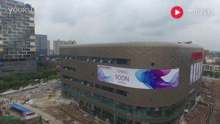 上海川沙百联购物中心航拍