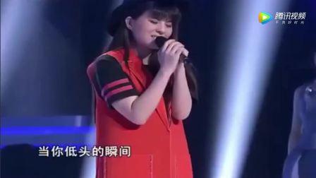 好声音学员贝贝翻唱许巍成名曲《蓝莲花》超级气场!