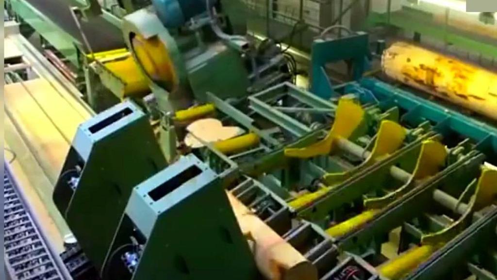 德国先进的全自动化无人锯木工厂!看完以后大开眼界!