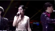 十几位港星歌手合唱《铁血丹心》场面太震撼!小编听哭了!
