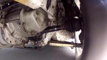 汽车高速转弯急刹车时,前悬挂系统和轮胎是怎样变化的?