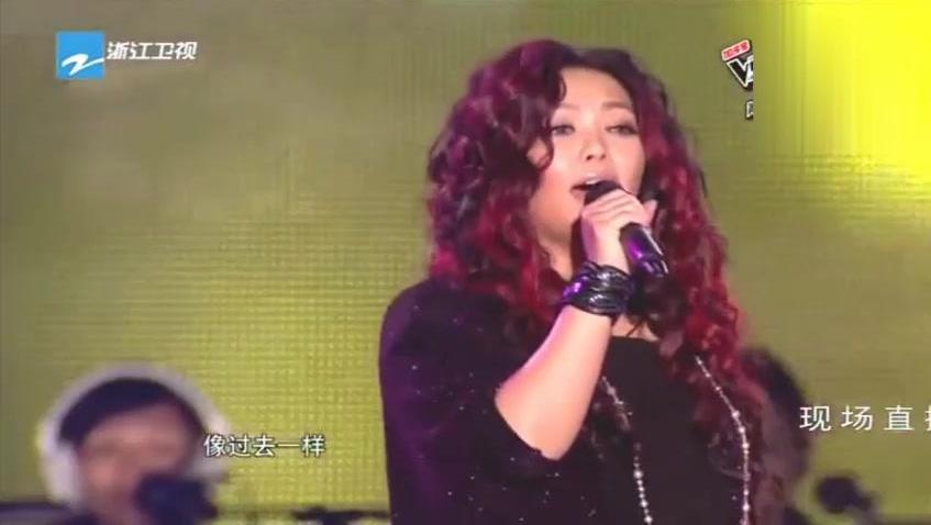 张惠妹我最亲爱的_张惠妹演唱 中国好声音晋级图
