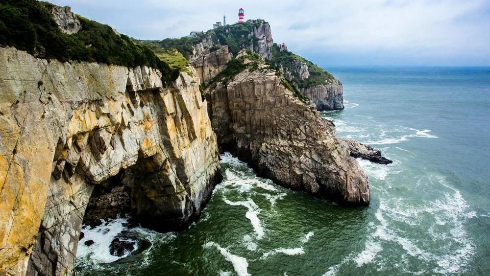 打开 打开 故乡的原风景 c调笛子 打开 中国沿海的小岛 渔山岛,风景