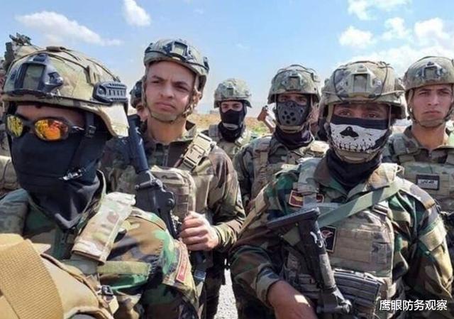 这次突袭行动是伊拉克新总理穆斯塔法,伊朗支持了诸多的亲伊朗民兵,其中一名指挥官是伊朗人(图2)