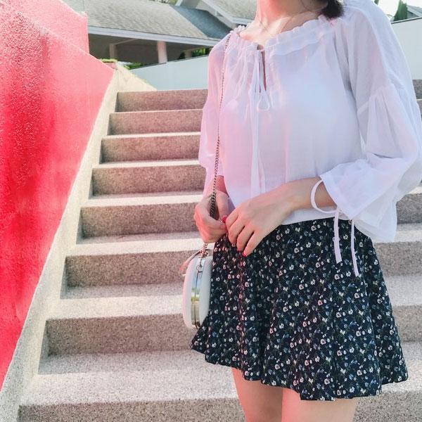 半身裙雪纺_夏天不穿半身裙, 气质比别人差的不止一点点, 雪纺材质更具女人味