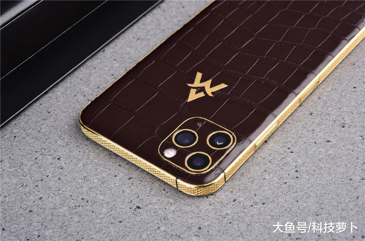 鳄鱼皮+24K镀金边框, 23888起, iPhone 11Max竟成奢侈品?