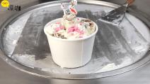 泰国网红炒酸奶,巧克力鸡蛋卷冰淇淋,每次路过都要吃10个!