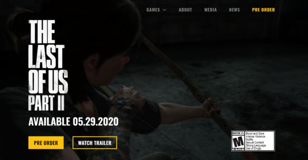 """《美末2》将包含更多的成人内容 ESRB分级""""M/17 """""""
