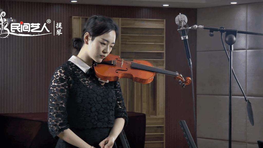黄嗲红高粱片尾曲九儿A B E三调指法小提琴