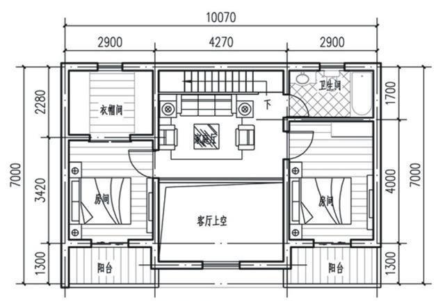 农村小户型自建房不规则设计图展示