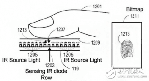 苹果7plus指纹电路图