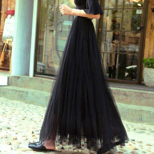 灰色半身裙搭什么上衣_来条半身裙, 再搭件上衣, 实用又美观。