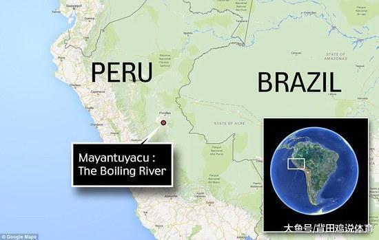这一条河的沸腾让人们无法相信,一不小心掉进去就会成为被烫死(图2)