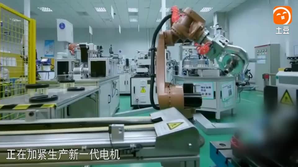 实拍中国全自动电机制造厂, 全厂不见一个人, 赶超德国机械